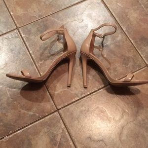 Aldo Nude High Heels 4.5 inches!!! Worn Once!!!